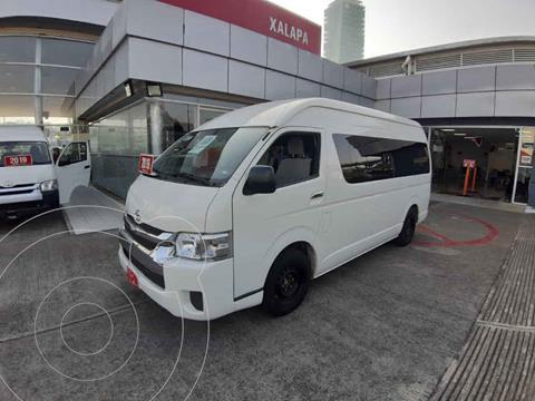 Toyota Hiace 2.7L Bus 15 Pas usado (2019) color Blanco precio $450,000