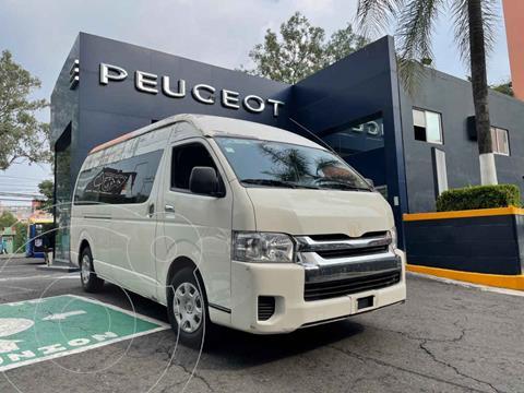 Toyota Hiace 2.7L Bus 15 Pas usado (2019) color Blanco precio $494,900