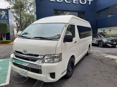 Toyota Hiace 2.7L Bus 15 Pas usado (2019) color Blanco precio $489,900
