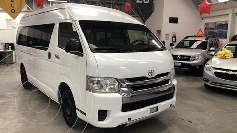 Toyota Hiace 2.7L Ventanas Superlarga usado (2014) color Blanco precio $250,000