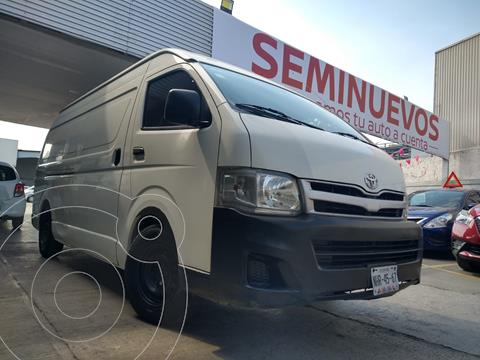 Toyota Hiace 2.7L Panel Super Larga usado (2013) color Blanco precio $209,800