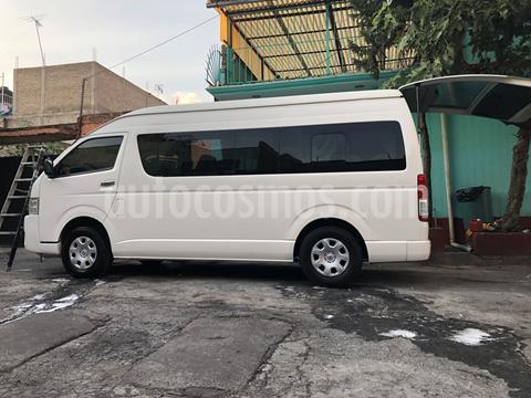 Toyota Hiace 2.7L Bus Commuter 15 Pas usado (2018) color Blanco precio $395,000