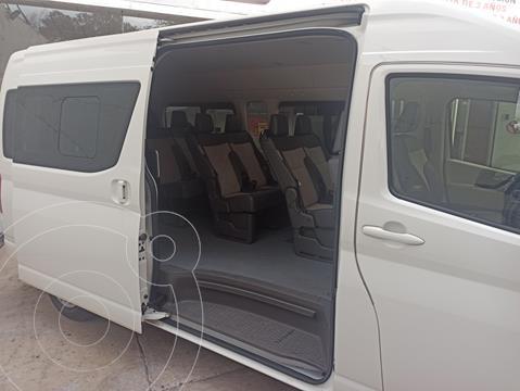 Toyota Hiace 2.7L Bus 15 Pas usado (2019) color Blanco financiado en mensualidades(enganche $138,466 mensualidades desde $12,148)
