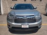 Foto venta Auto usado Toyota Highlander 5p Limited V6/3.5 Aut (2015) color Plata precio $400,000