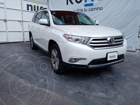 Toyota Highlander Sport Premium usado (2012) color Blanco precio $240,000