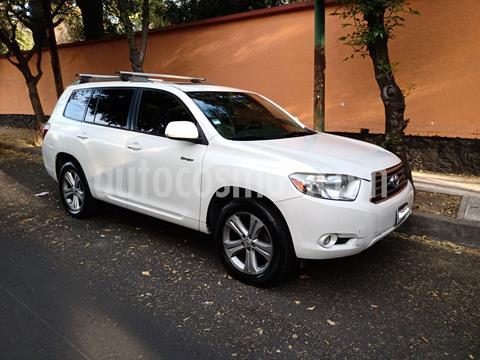 Toyota Highlander Sport Premium usado (2009) color Blanco precio $140,000