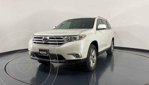 Toyota Highlander Sport Premium usado (2012) color Blanco precio $232,999