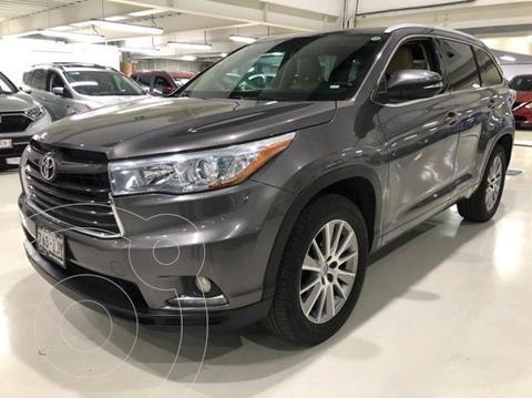 Toyota Highlander Limited usado (2014) color Gris Oscuro precio $299,100