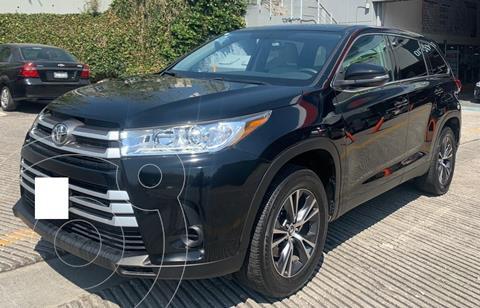 Toyota Highlander LE usado (2019) color Negro financiado en mensualidades(enganche $122,000 mensualidades desde $12,923)