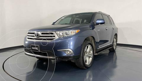 Toyota Highlander Limited usado (2012) color Azul precio $259,999