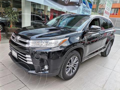 Toyota Highlander XLE usado (2018) color Negro precio $499,000