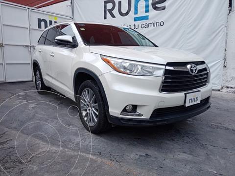 Toyota Highlander Limited Panoramic Roof usado (2014) color Blanco precio $320,000
