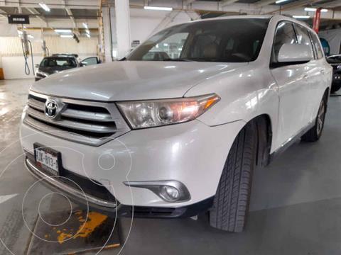 Toyota Highlander Base Premium usado (2012) color Blanco precio $235,000
