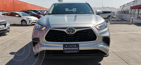 Toyota Highlander LE usado (2020) color Plata precio $635,000