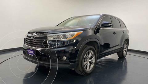 Toyota Highlander XLE usado (2014) color Negro precio $319,999