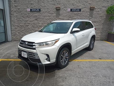 Toyota Highlander XLE usado (2017) color Blanco precio $460,000