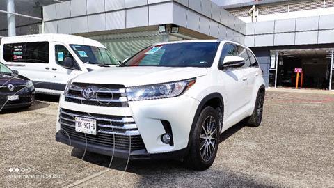 Toyota Highlander Limited Panoramic Roof usado (2018) color Blanco precio $605,000