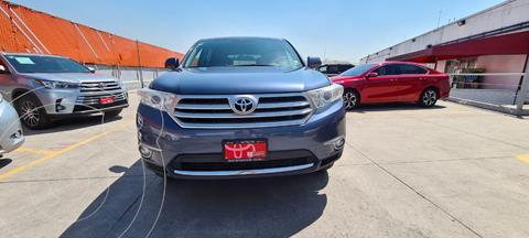 Toyota Highlander Premium usado (2013) color Azul precio $259,000