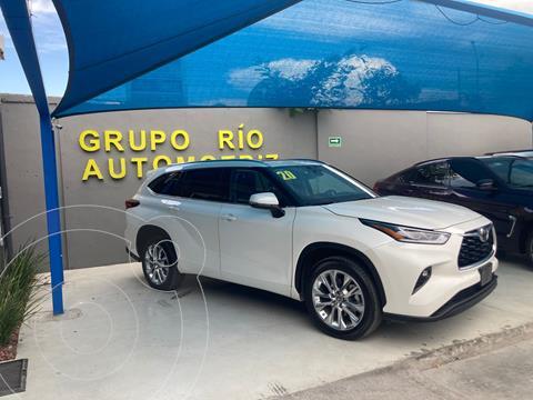 Toyota Highlander Limited usado (2020) color Blanco precio $740,000