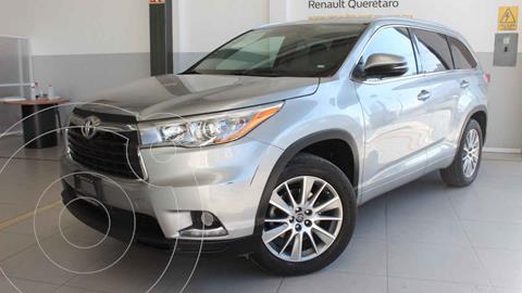 Toyota Highlander Limited Panoramic Roof usado (2016) color Plata precio $359,000