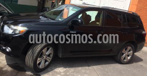 Toyota Highlander Sport Premium usado (2008) color Negro precio $138,000