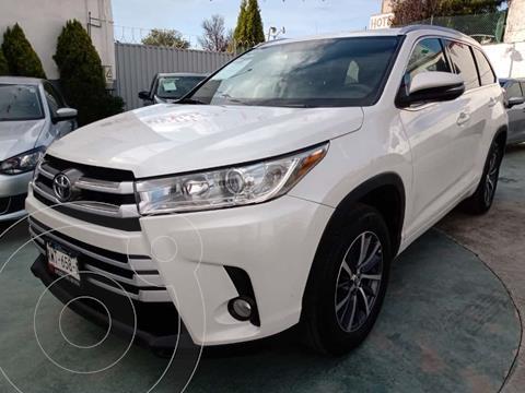 Toyota Highlander XLE usado (2017) color Blanco precio $480,000