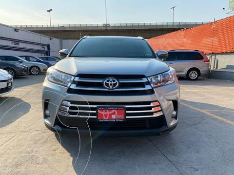 Toyota Highlander Limited Panoramic Roof usado (2019) color Plata precio $599,000