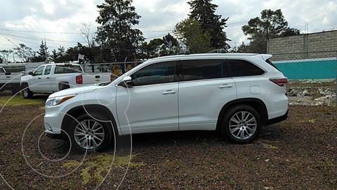Toyota Highlander Limited usado (2015) color Blanco precio $385,000