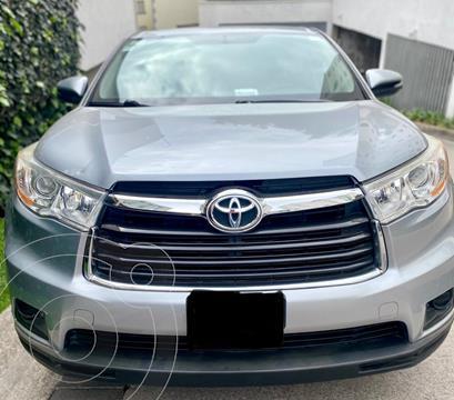 Toyota Highlander LE usado (2016) color Plata precio $360,000
