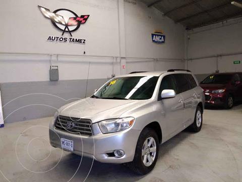 Toyota Highlander Base Premium usado (2010) color Plata precio $158,900