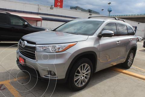 Toyota Highlander Limited usado (2015) color Plata precio $409,000