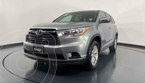 Toyota Highlander LE usado (2015) color Plata precio $314,999