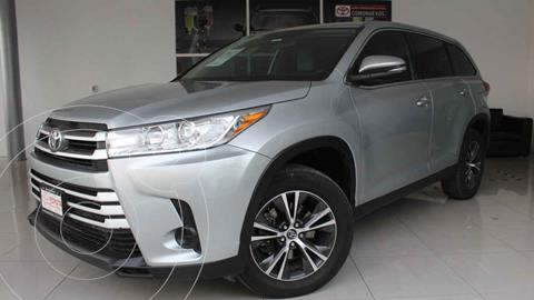 Toyota Highlander LE usado (2019) color Plata precio $465,000
