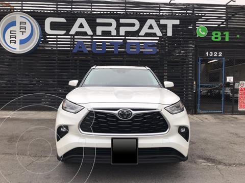 Toyota Highlander Limited usado (2020) color Blanco precio $679,000