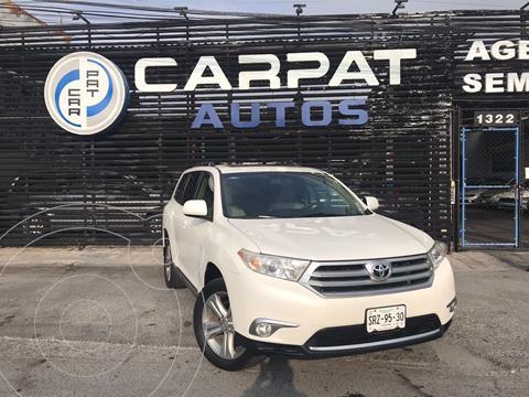 Toyota Highlander Base Premium usado (2013) color Blanco precio $249,000