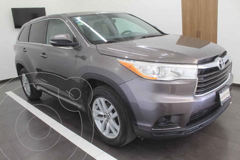 Toyota Highlander LE usado (2016) color Gris precio $355,000
