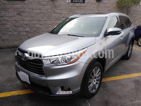 Toyota Highlander Limited usado (2016) color Plata Dorado precio $390,000