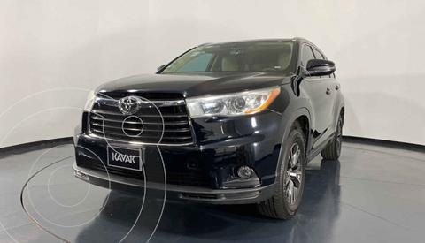 Toyota Highlander LE usado (2017) color Negro precio $392,999