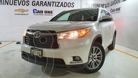 Toyota Highlander Limited Panoramic Roof usado (2016) color Blanco Perla financiado en mensualidades(enganche $79,000 mensualidades desde $10,783)