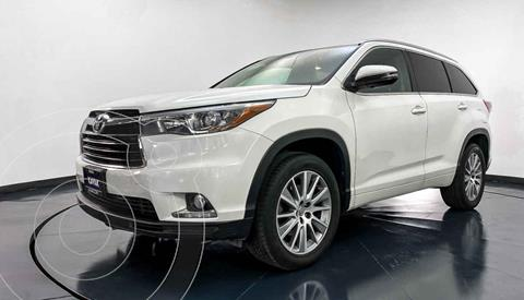 Toyota Highlander Limited Panoramic Roof usado (2015) color Blanco precio $377,999