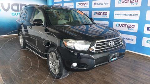 Toyota Highlander Sport usado (2010) color Negro financiado en mensualidades(enganche $72,150 mensualidades desde $7,261)