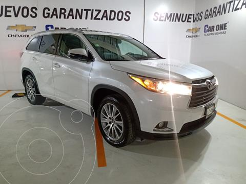 Toyota Highlander Limited Panoramic Roof usado (2016) color Blanco financiado en mensualidades(enganche $98,750 mensualidades desde $10,565)