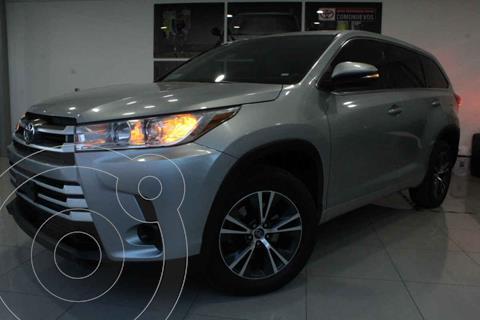 Toyota Highlander LE usado (2017) color Plata precio $397,000