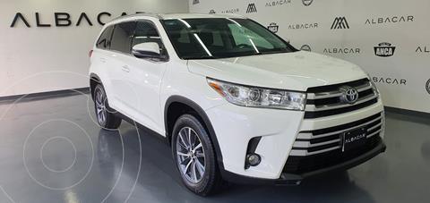 Toyota Highlander XLE usado (2019) color Blanco precio $579,900