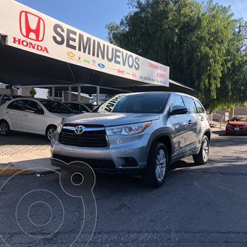 Toyota Highlander LE usado (2016) color Gris precio $359,000