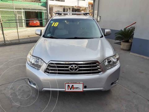 Toyota Highlander Limited usado (2010) color Plata precio $189,000