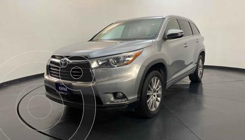 Toyota Highlander Limited usado (2015) color Plata precio $372,999