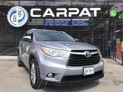 Toyota Highlander Limited usado (2014) color Azul Oscuro precio $344,000
