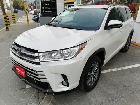 Toyota Highlander XLE usado (2017) color Blanco Perla precio $399,000