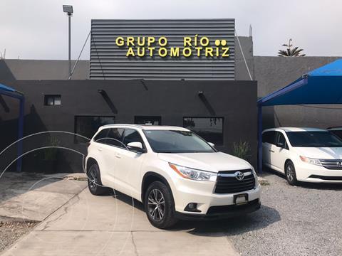 Toyota Highlander XLE usado (2016) color Blanco precio $379,000